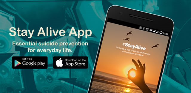 stay alive banner